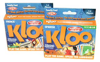 KLOO language learning games for schools